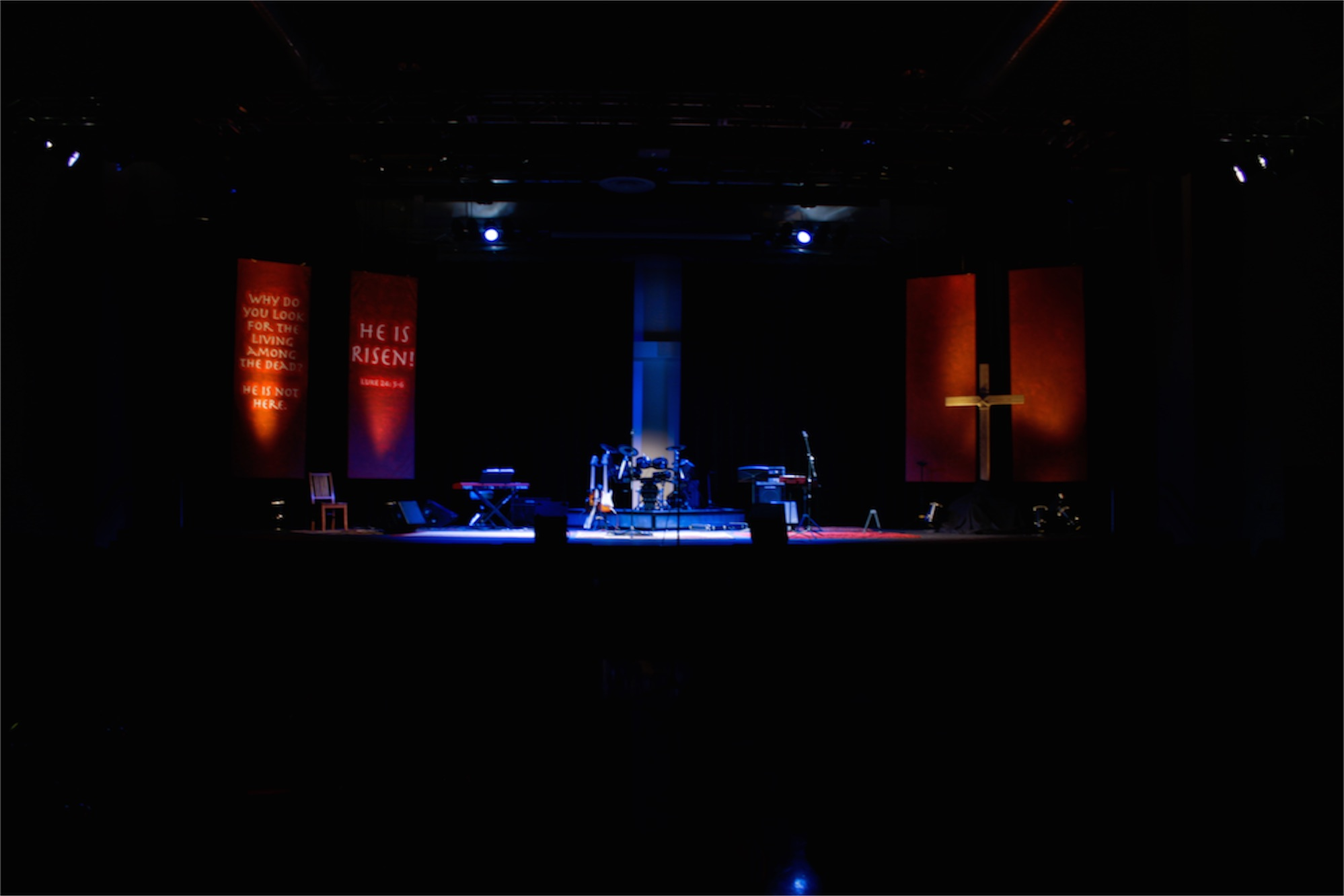 Bannerific Easter | Church Stage Design Ideas