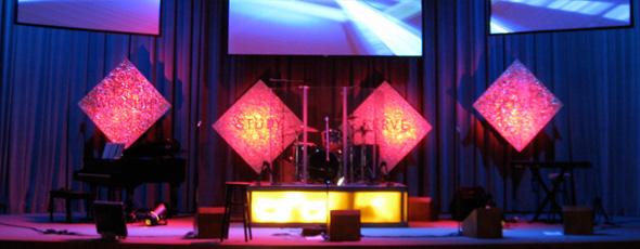 Foiled Again | Church Stage Design Ideas