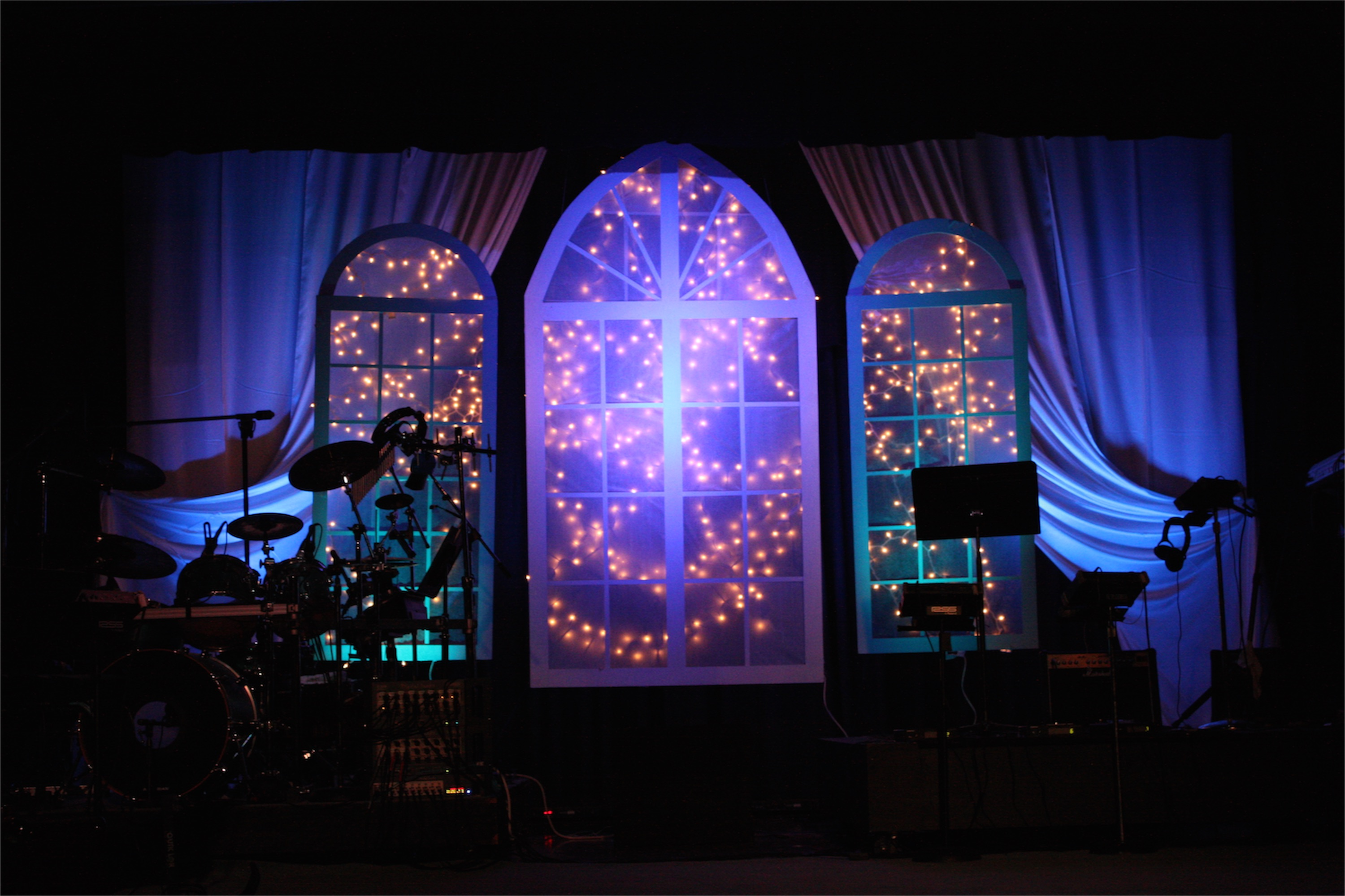 Top Christmas Church Stage Designs Wallpapers