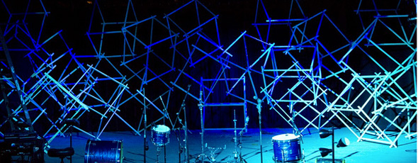 Throwback Cubism Church Stage Design Ideas