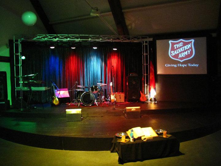 Modern Church Stage Design