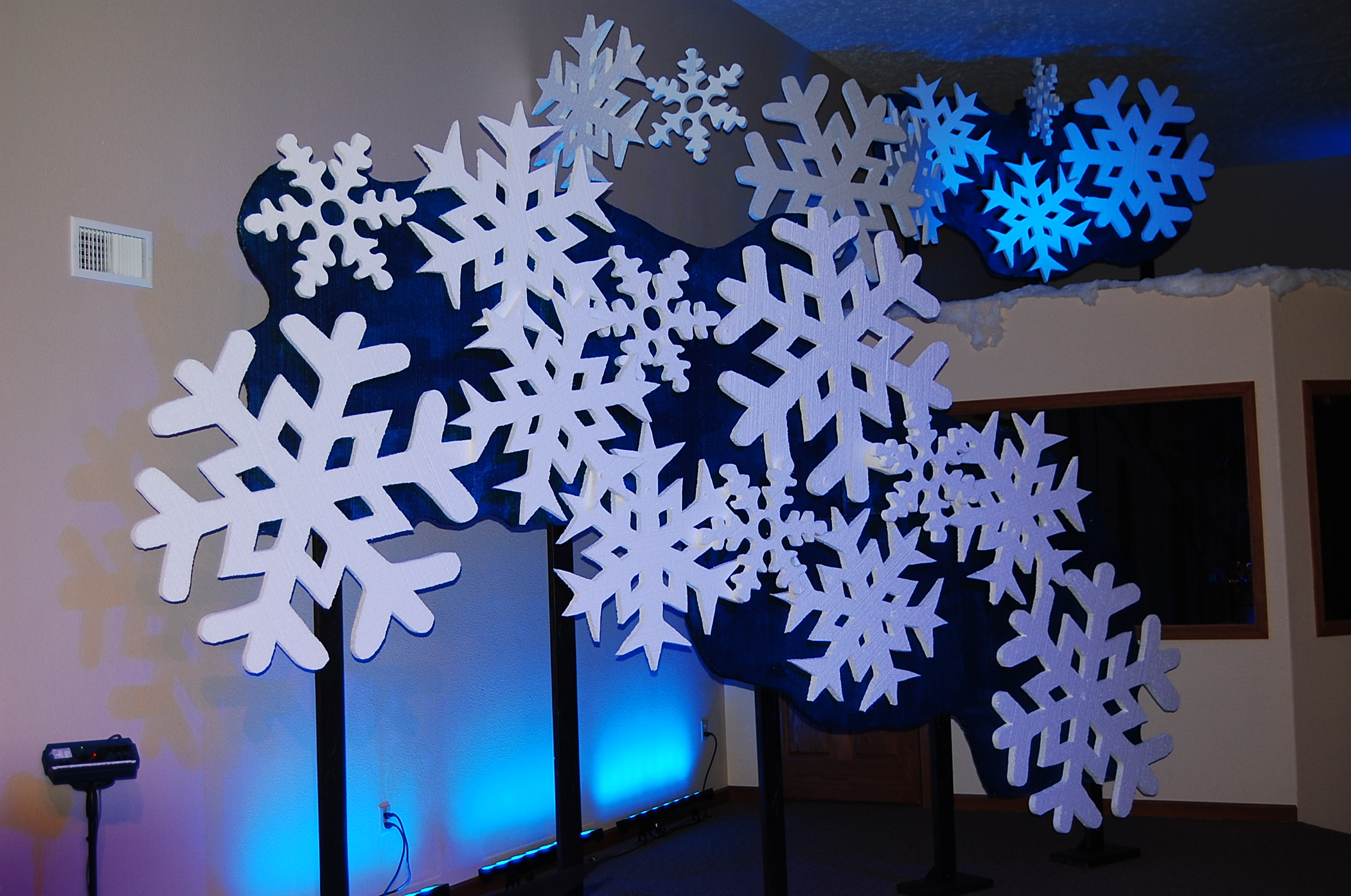 diy christmas backdrops for pictures