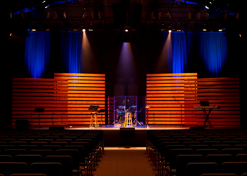 Pining Away | Church Stage Design Ideas