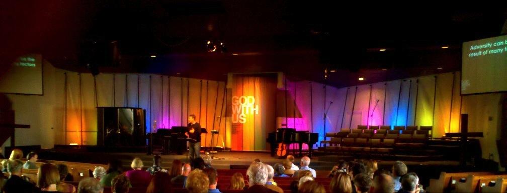 Contemporary Church Stage Design Ideas