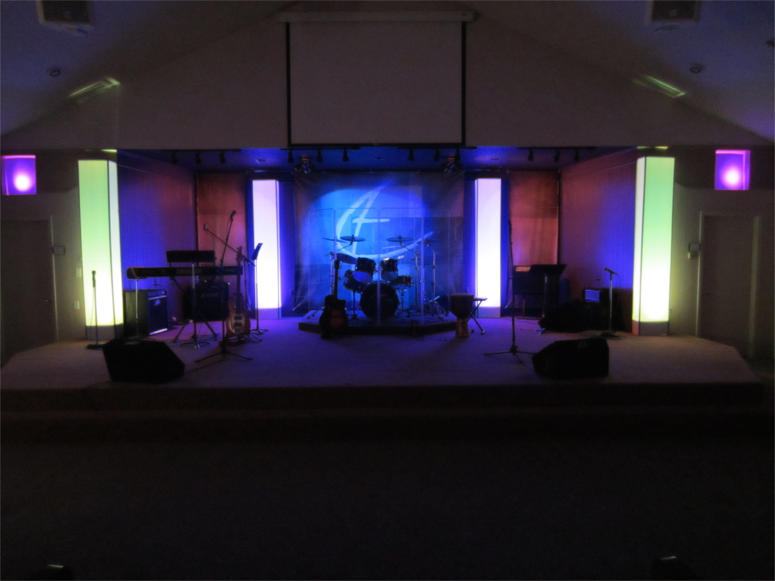 small church stage design related keywords suggestions small - Small Church Sanctuary Design Ideas