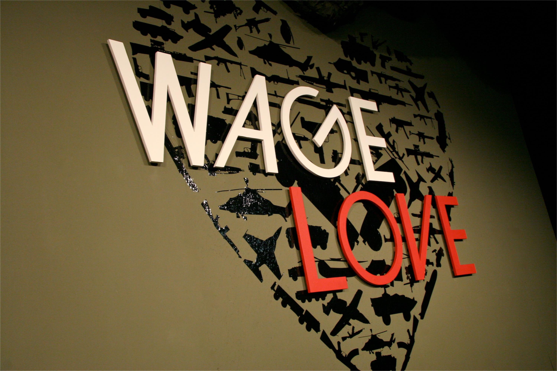 Wage Love Set Church Stage Design Ideas