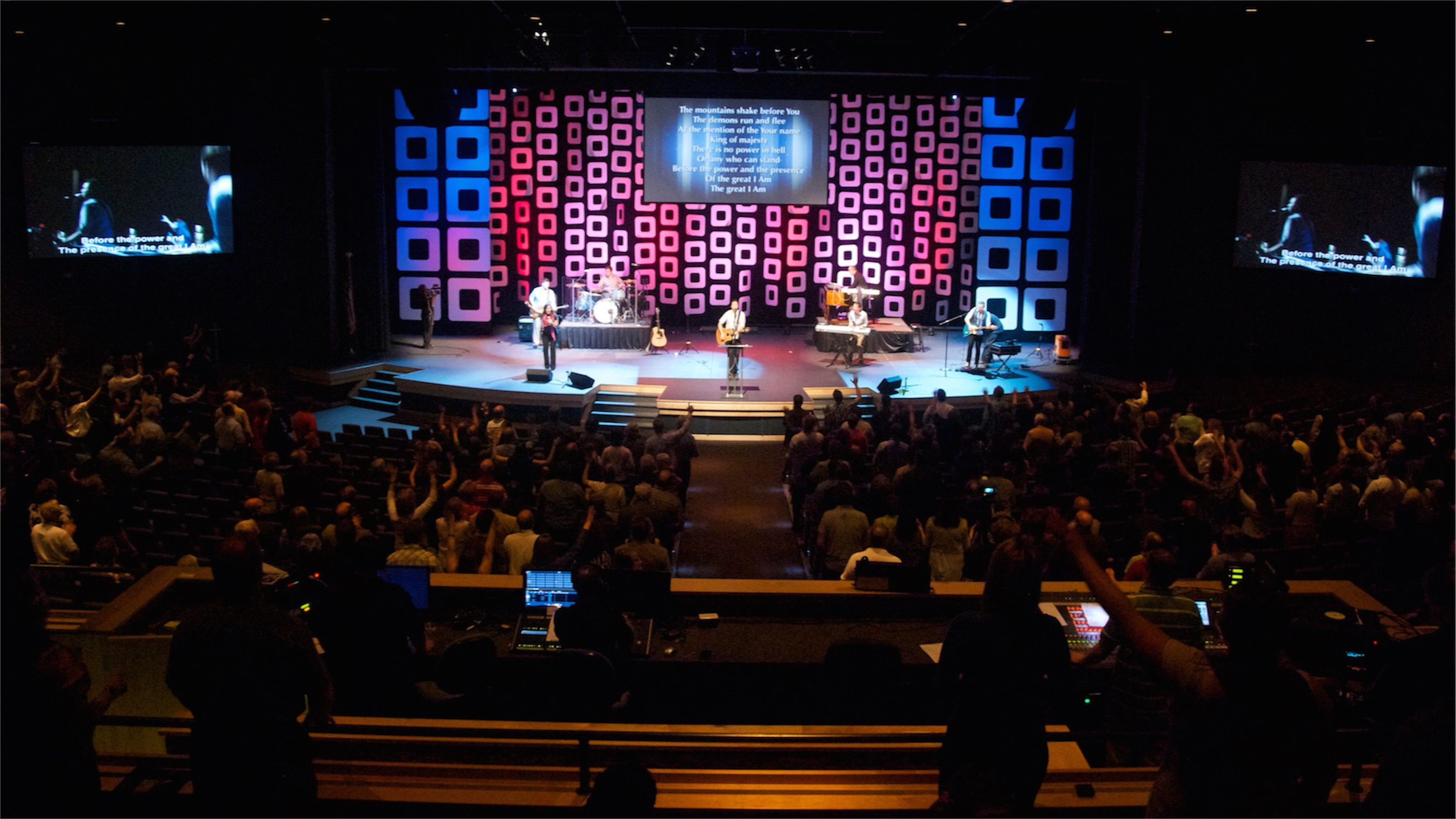 twist and shout church stage design ideas