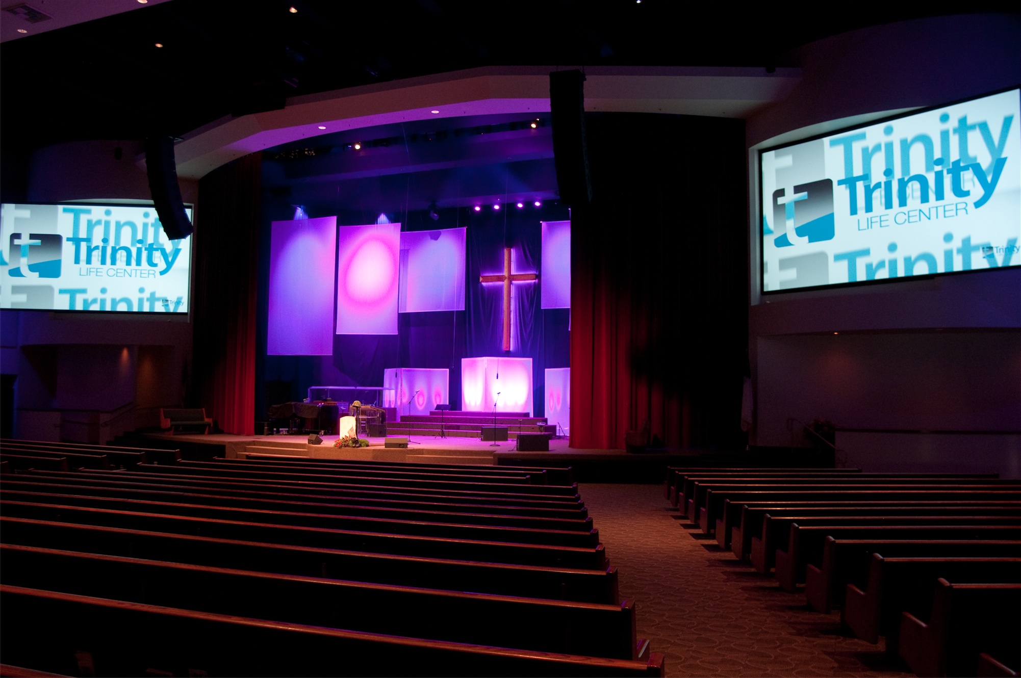 traditional to modern church stage design ideas