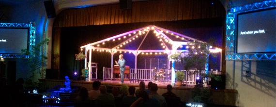 Gazebo Church Stage Design Ideas