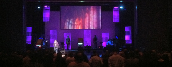 Two For One Special Church Stage Design Ideas