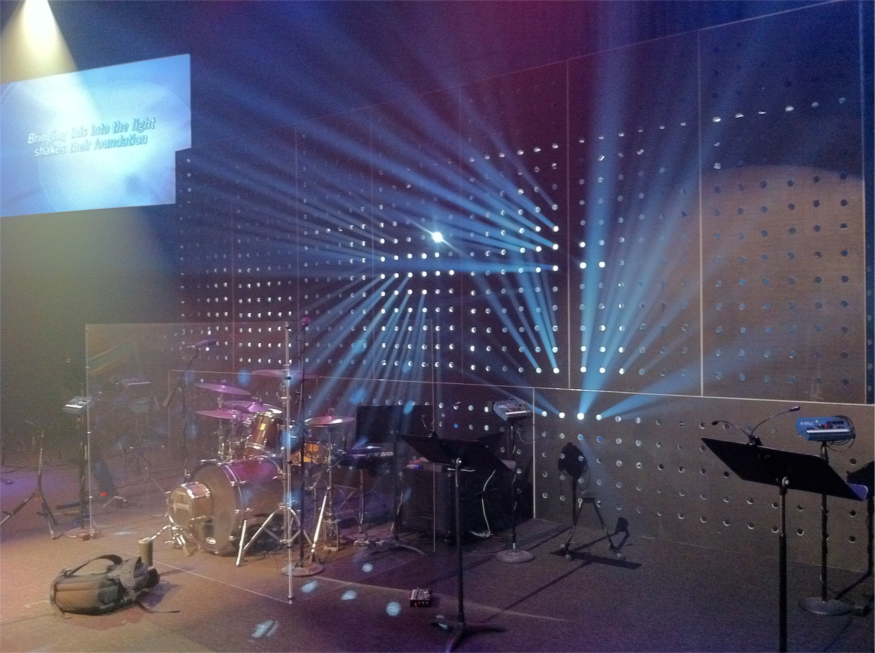 beaming church stage design ideas