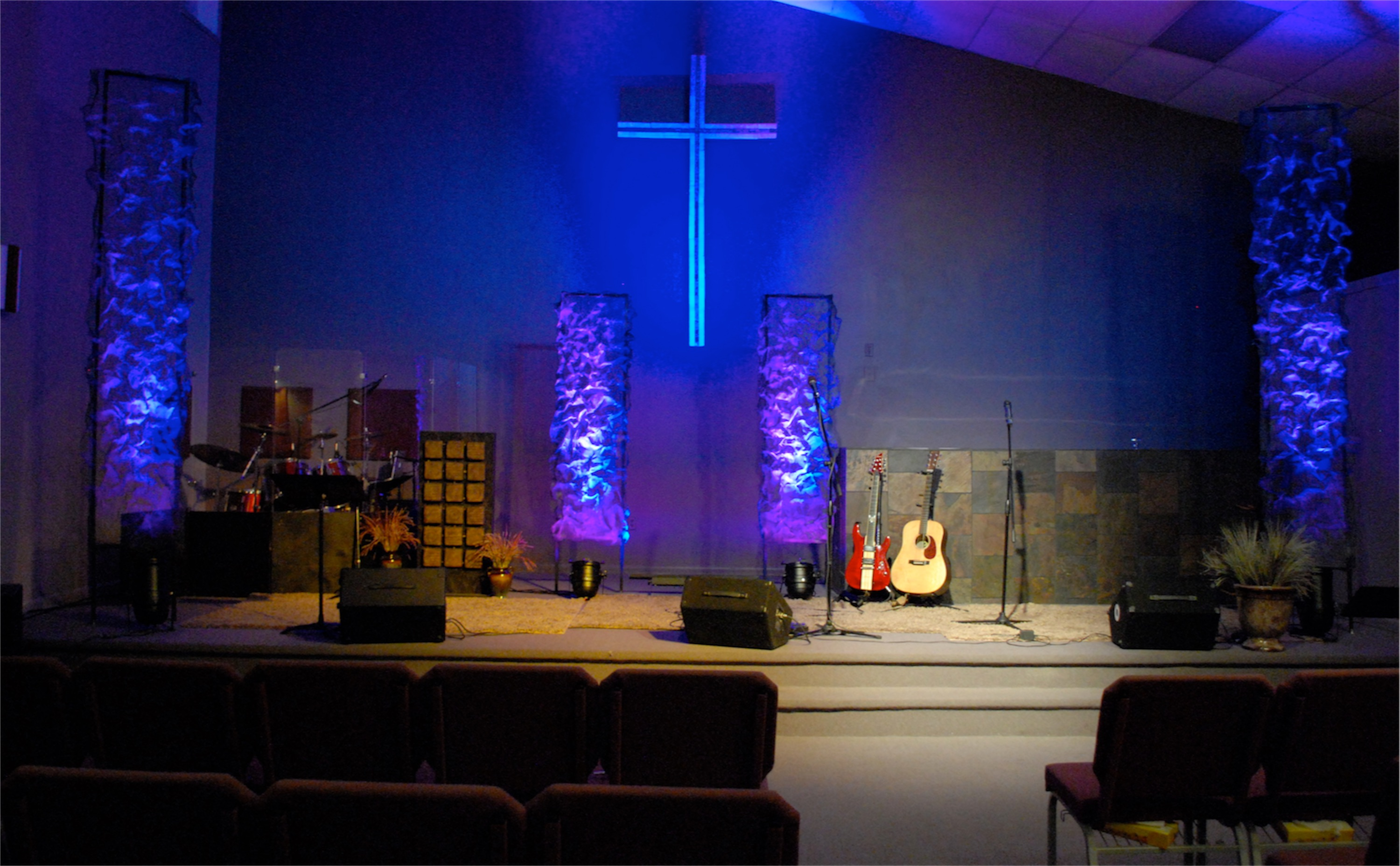 Contemporary Church Stage Design Ideas | Joy Studio Design Gallery ...