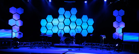 Throwback Imma Bee Church Stage Design Ideas
