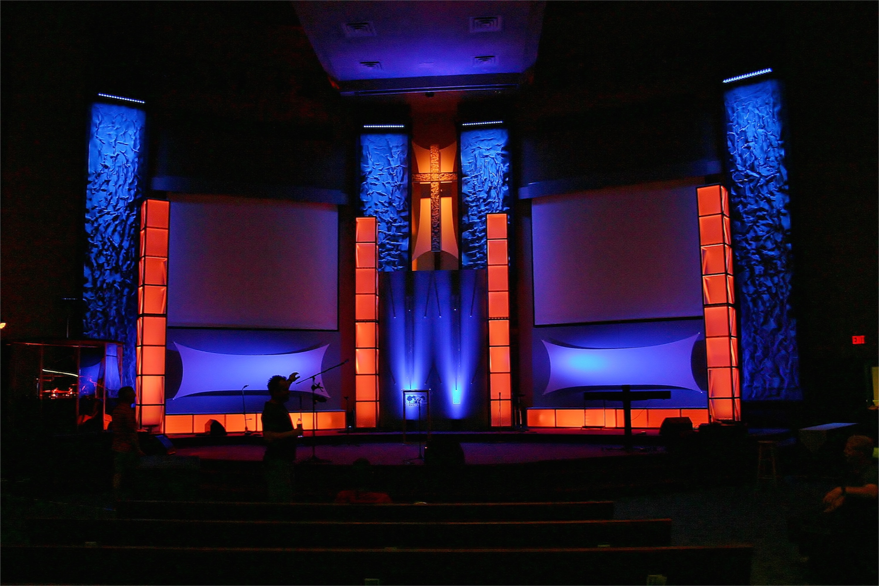 Wrinkles In Time Church Stage Design Ideas