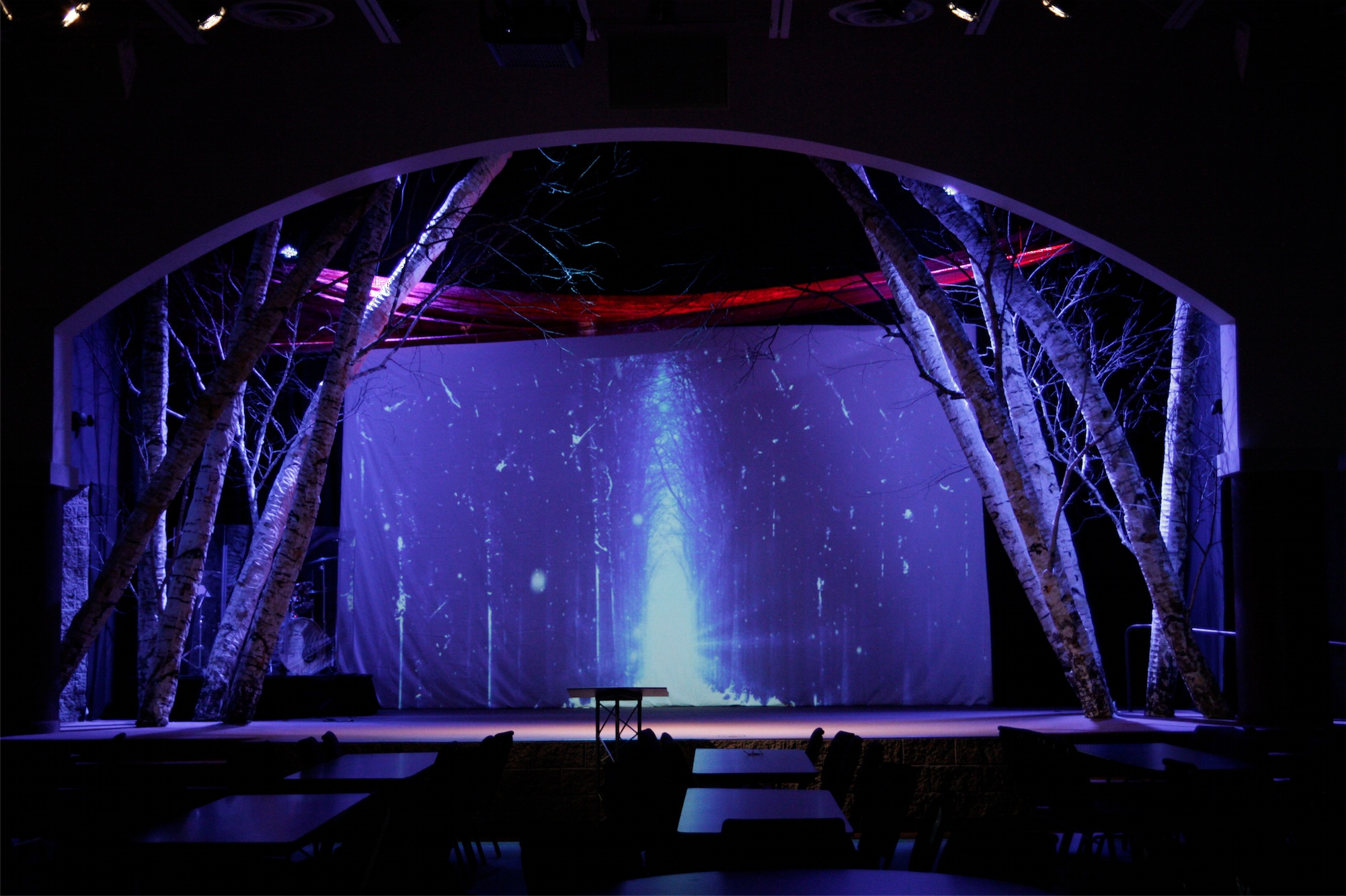 big on stage church stage design ideas church christmas concert ideas