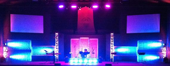 Bubl 233 Wrap Church Stage Design Ideas