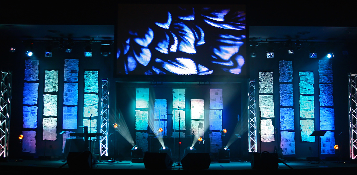 Throwback Floaters Church Stage Design Ideas