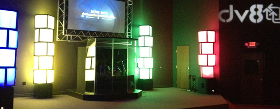 Air Filtered Church Stage Design Ideas