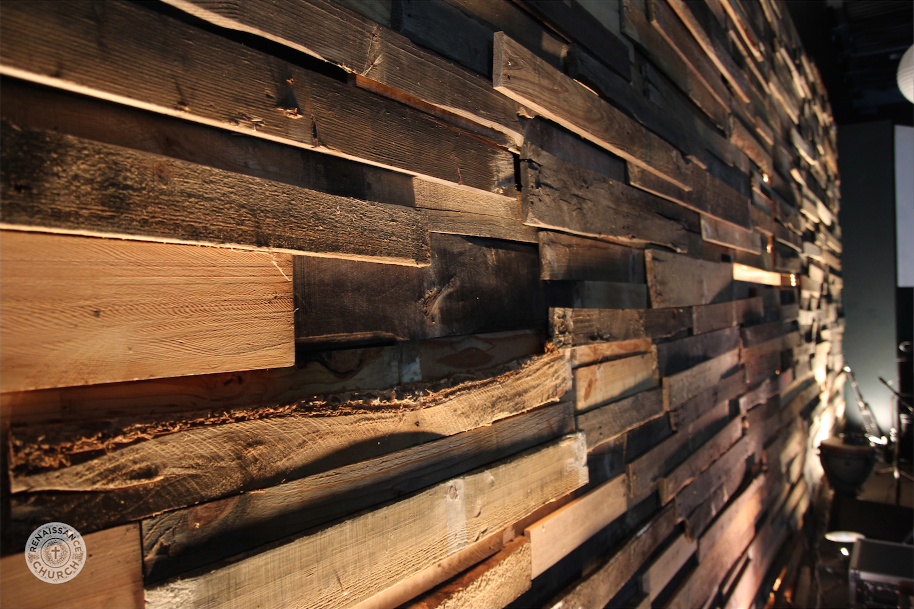 Midsummer night s porch church stage design ideas for Using pallets for walls