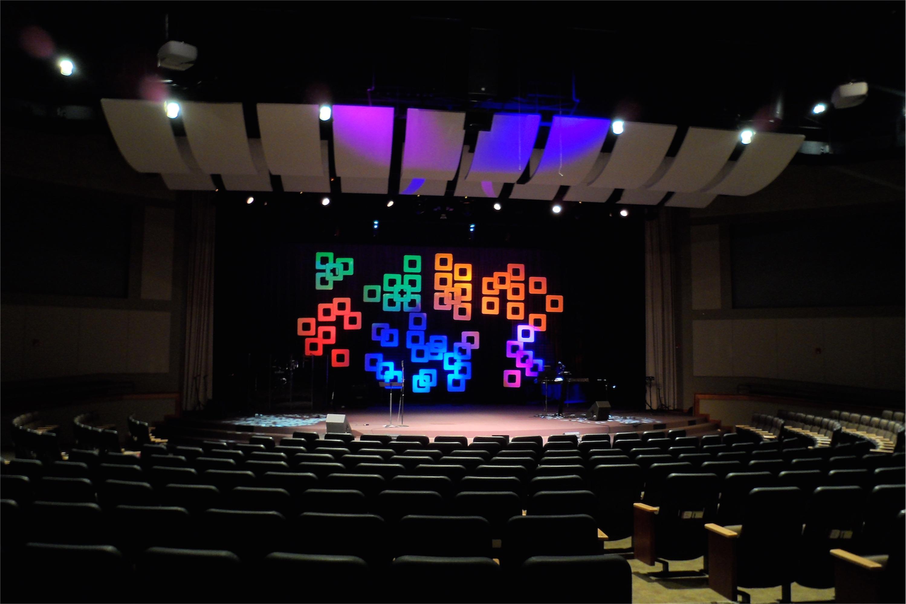 Cluster Fun Church Stage Design Ideas
