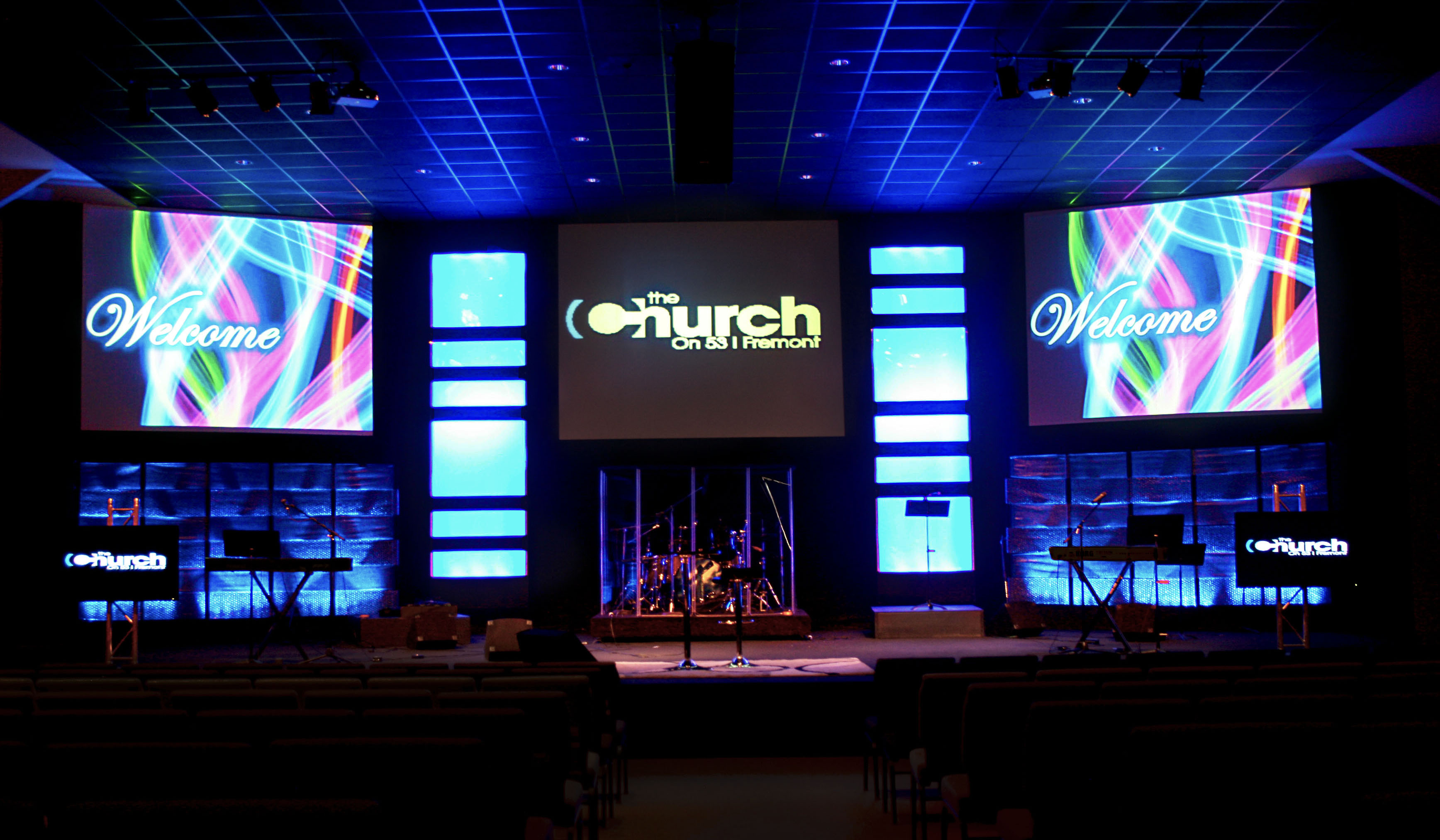 Small Church Stage Design | New Board Home Design