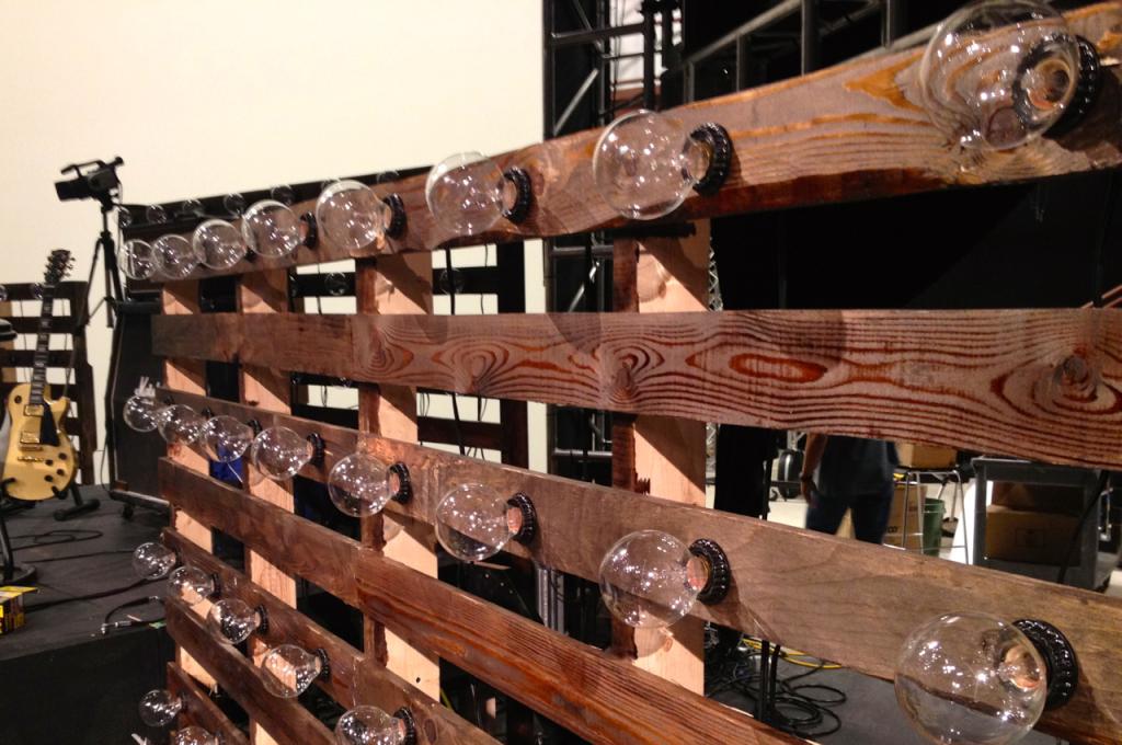 Bulb Boxes Church Stage Design Ideas