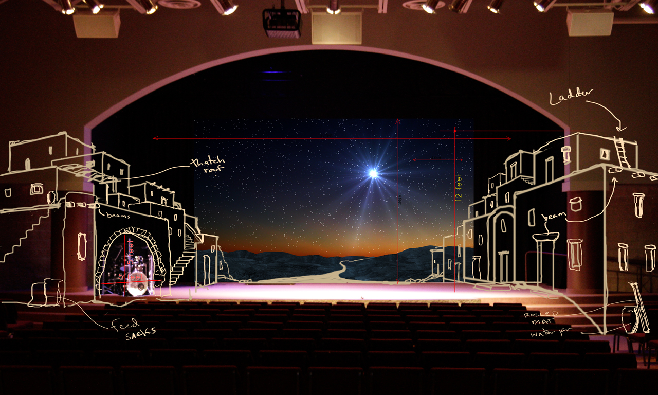 Bethlehem Stage Design | Church Stage Design Ideas