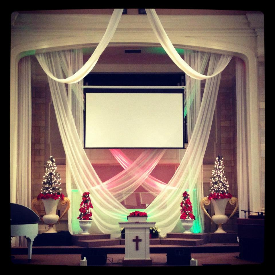 Joy Studio Design Gallery Best Design: Stage Decorations For Churches
