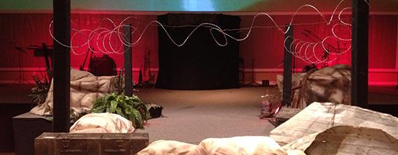 War Zone Church Stage Design Ideas