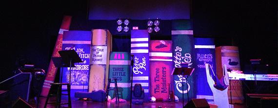 books church stage design ideas