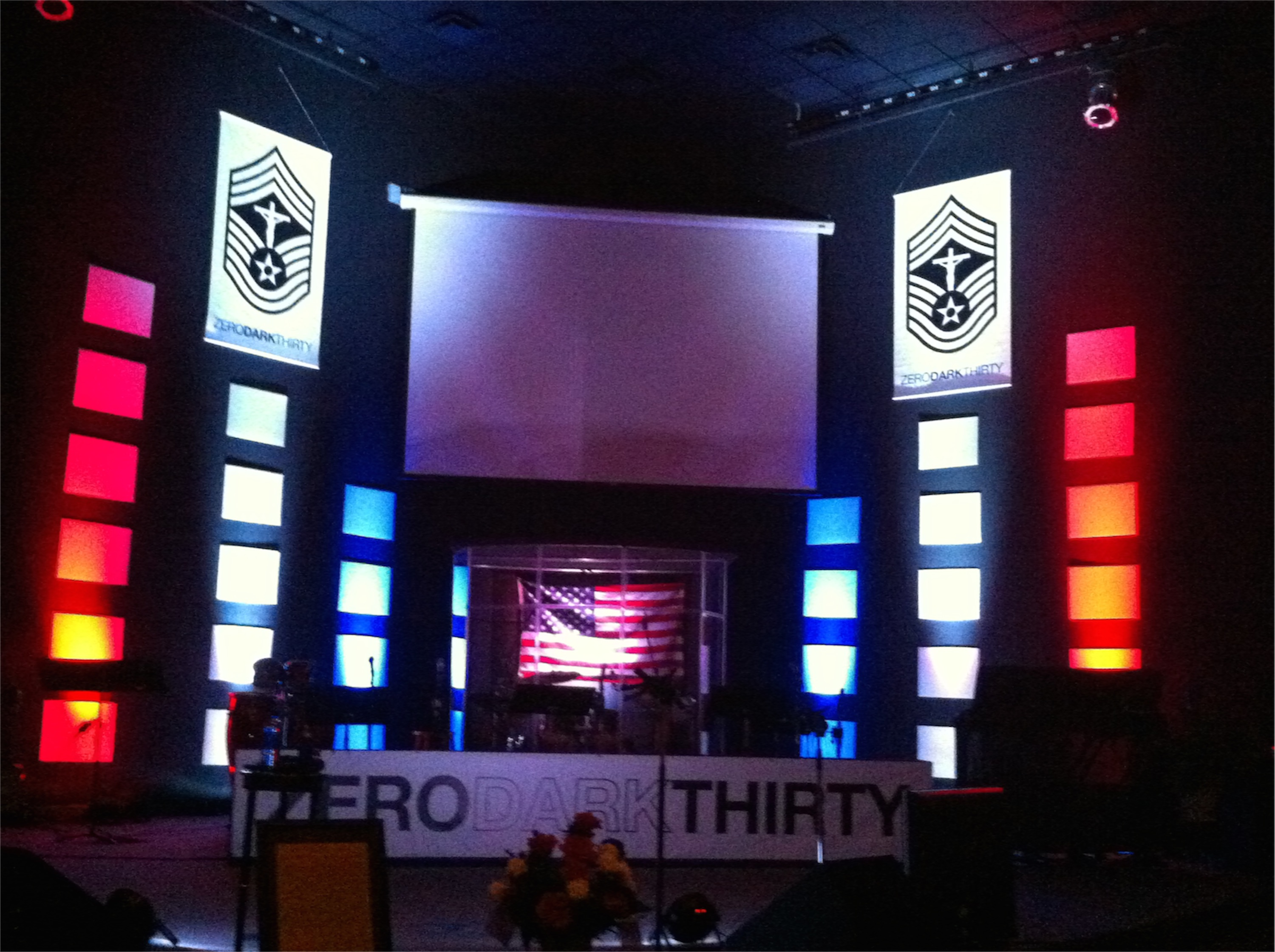 zero dark thirty church stage design ideas