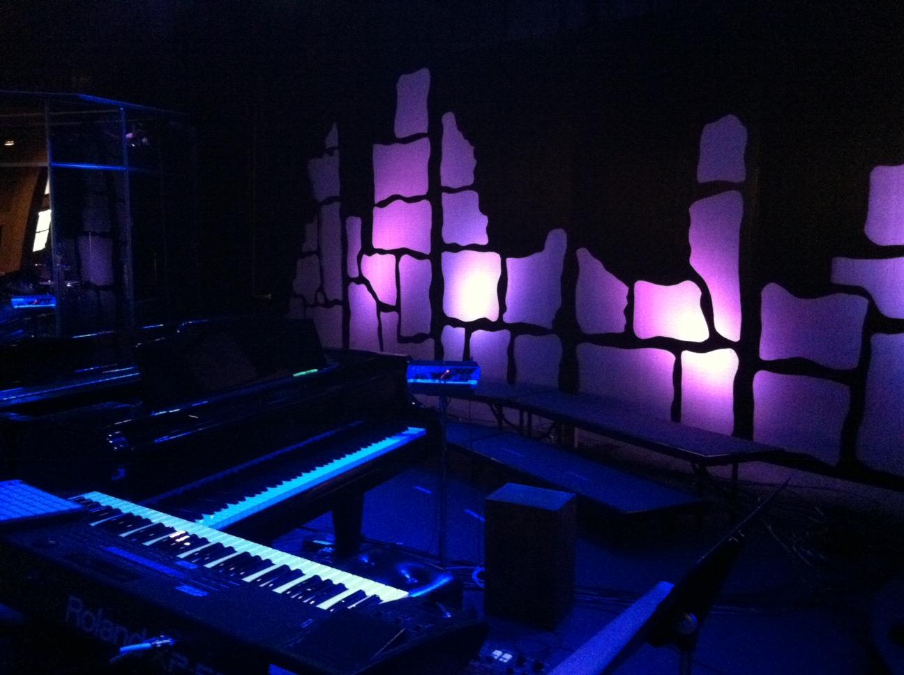 coro wall church stage design ideas