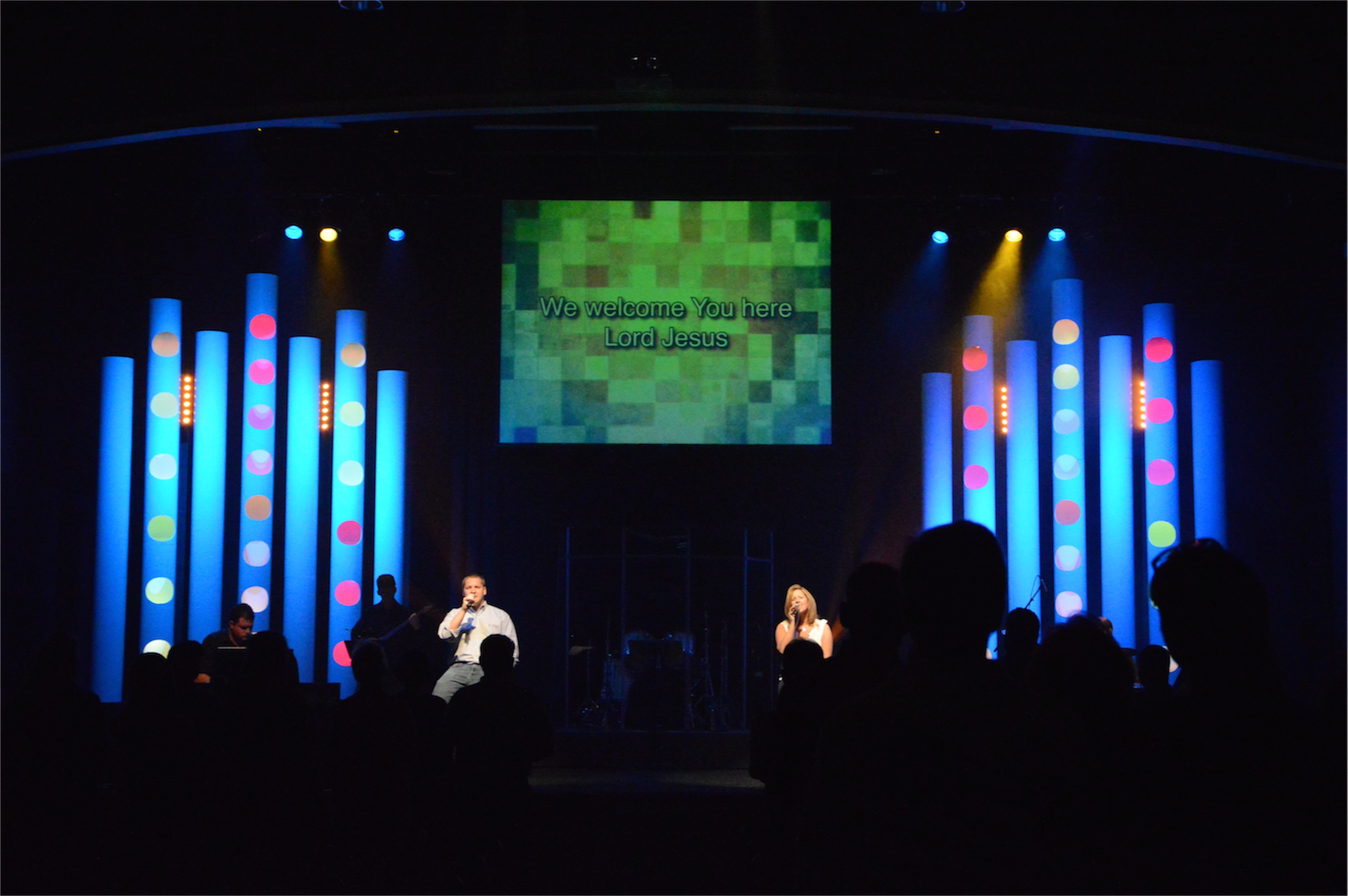Pay The Piper Church Stage Design Ideas