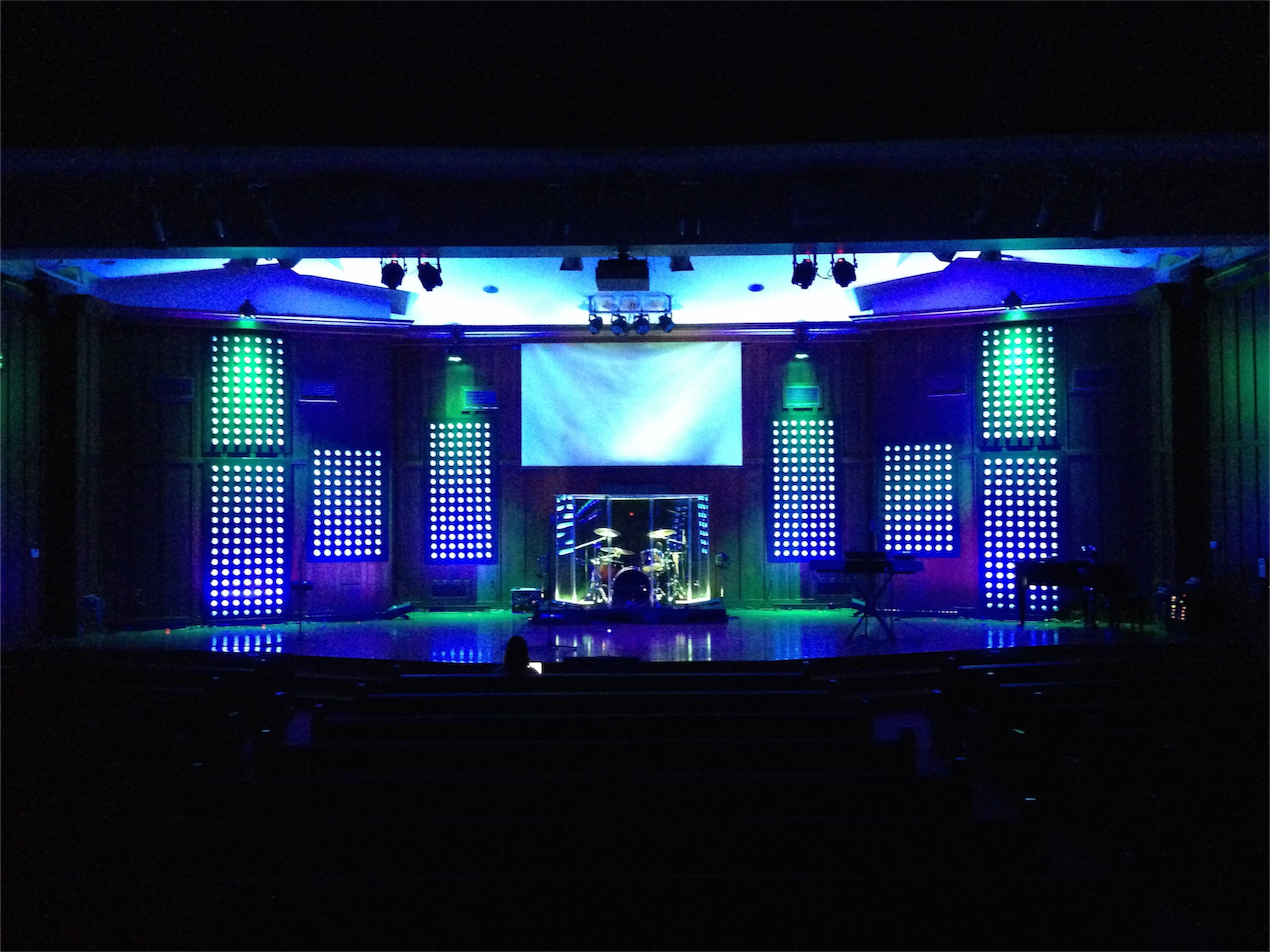 Dot Panels | Church Stage Design Ideas