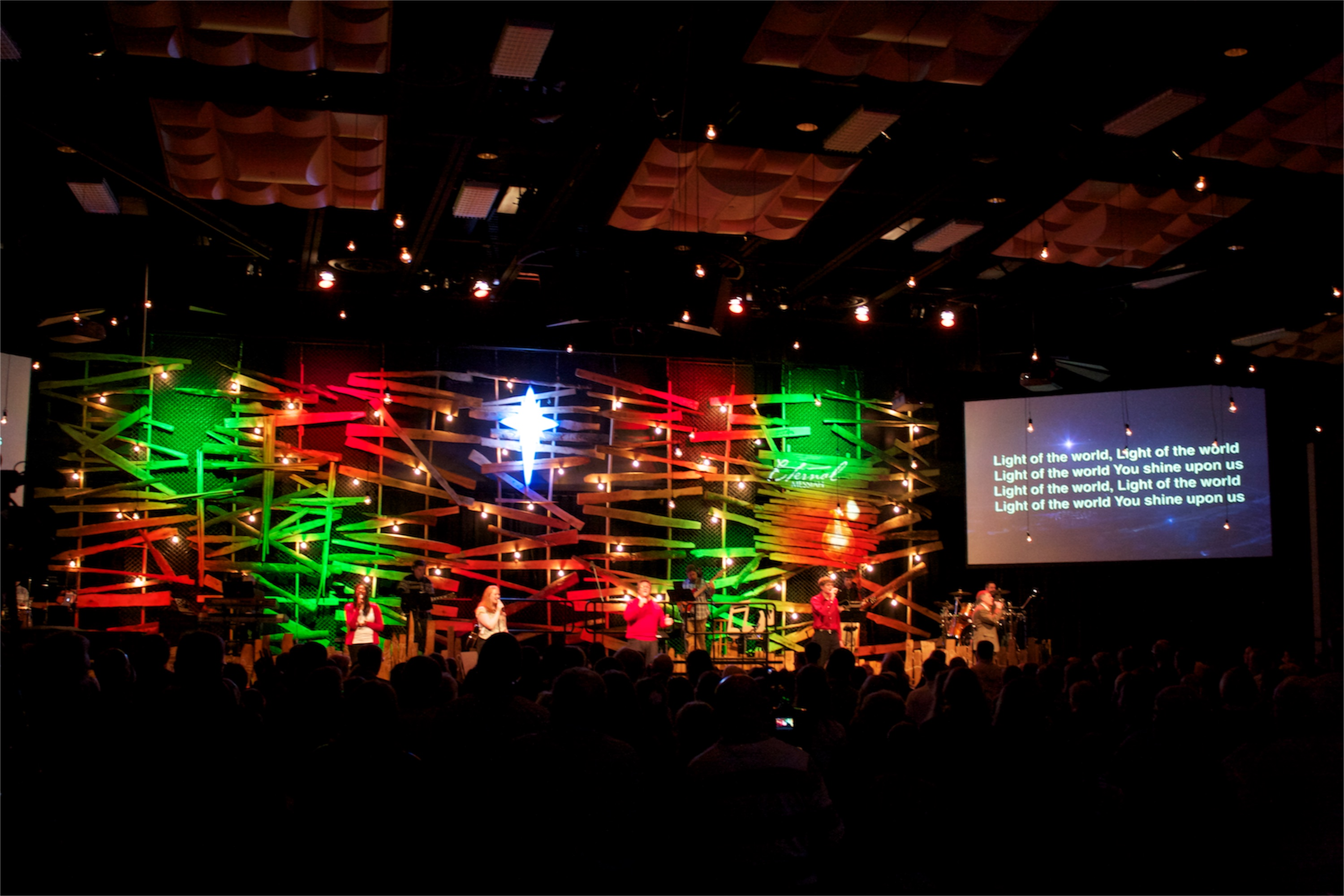 Cheap Church Stage Design Ideas