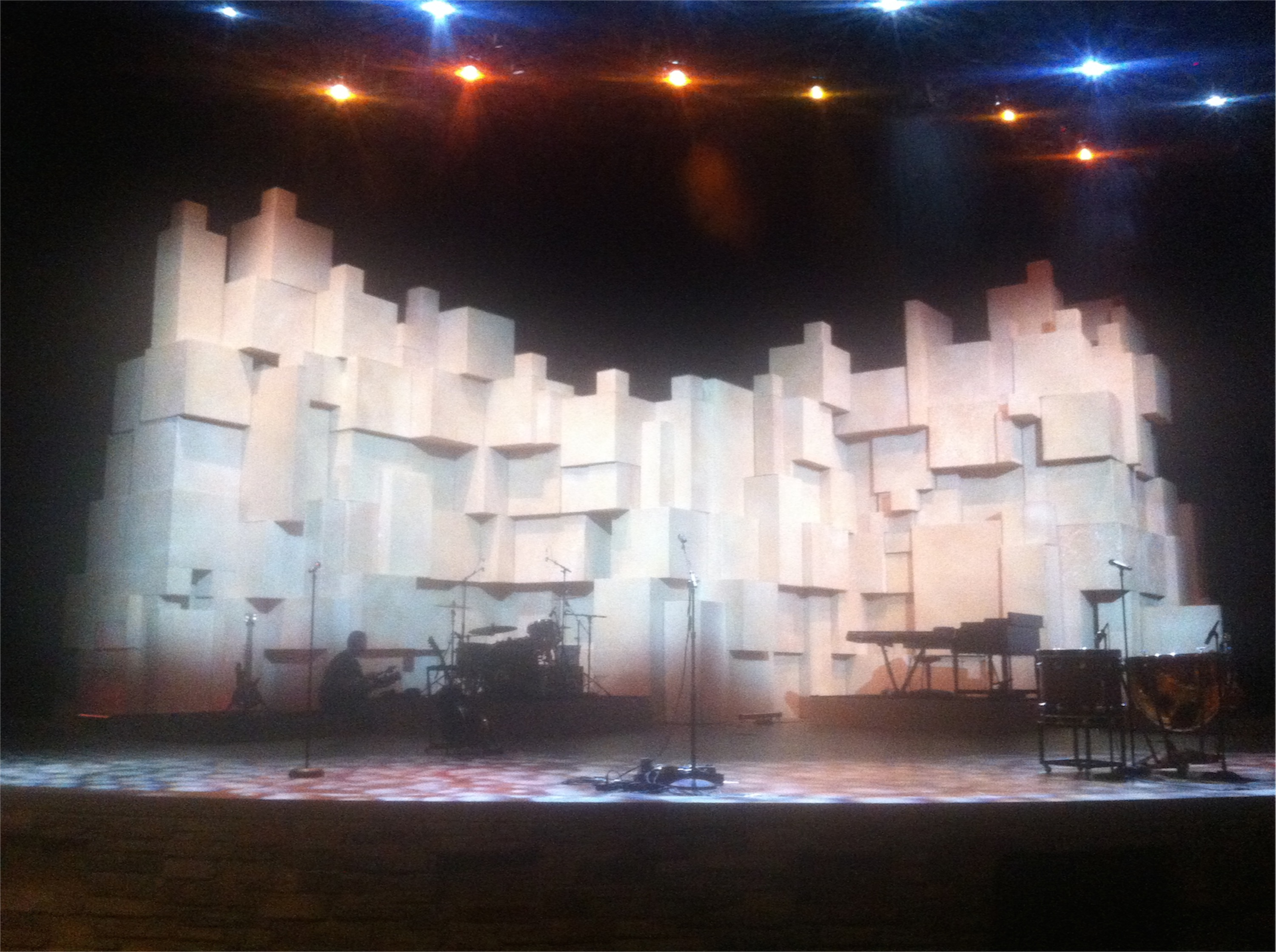 Cardboard Castle Church Stage Design Ideas