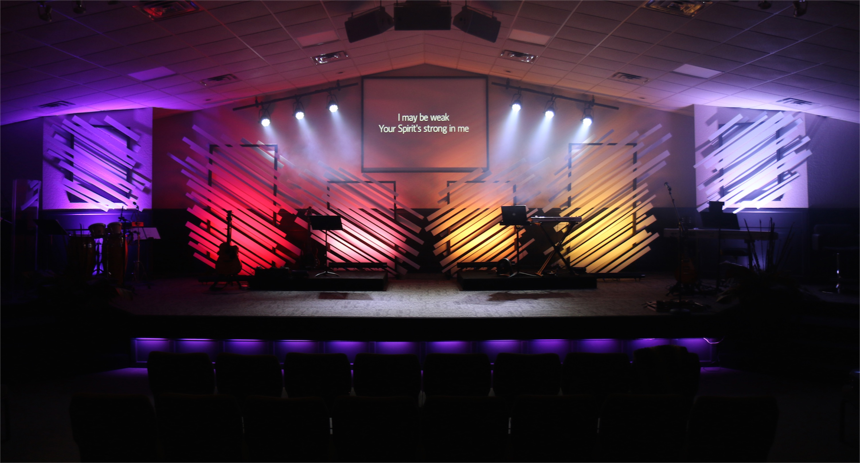 Touchstone church stage design ideas for Church stage design ideas