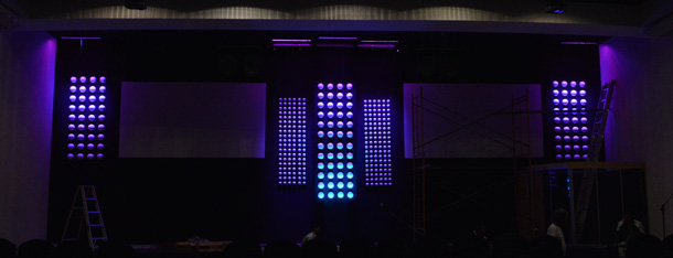 Different-Dots-Stage-Design-Idea