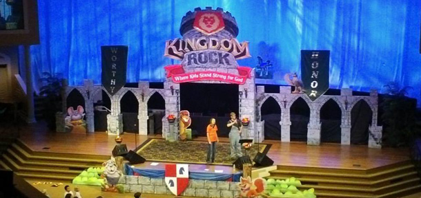 Fortress Vbs Church Stage Design Ideas