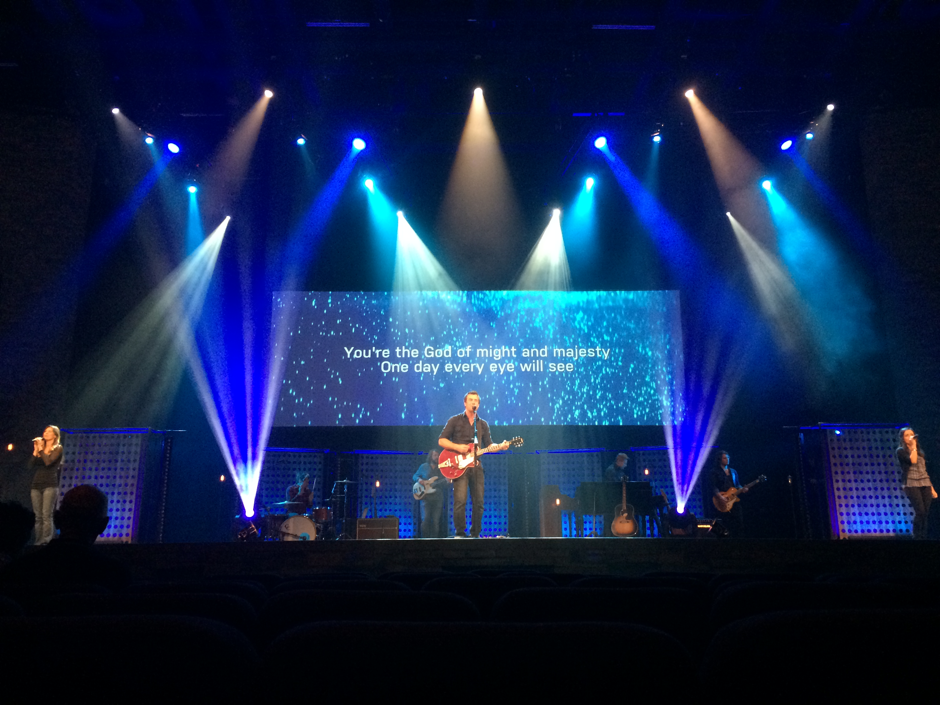 Holey Stage Backdrop Church Stage Design Ideas