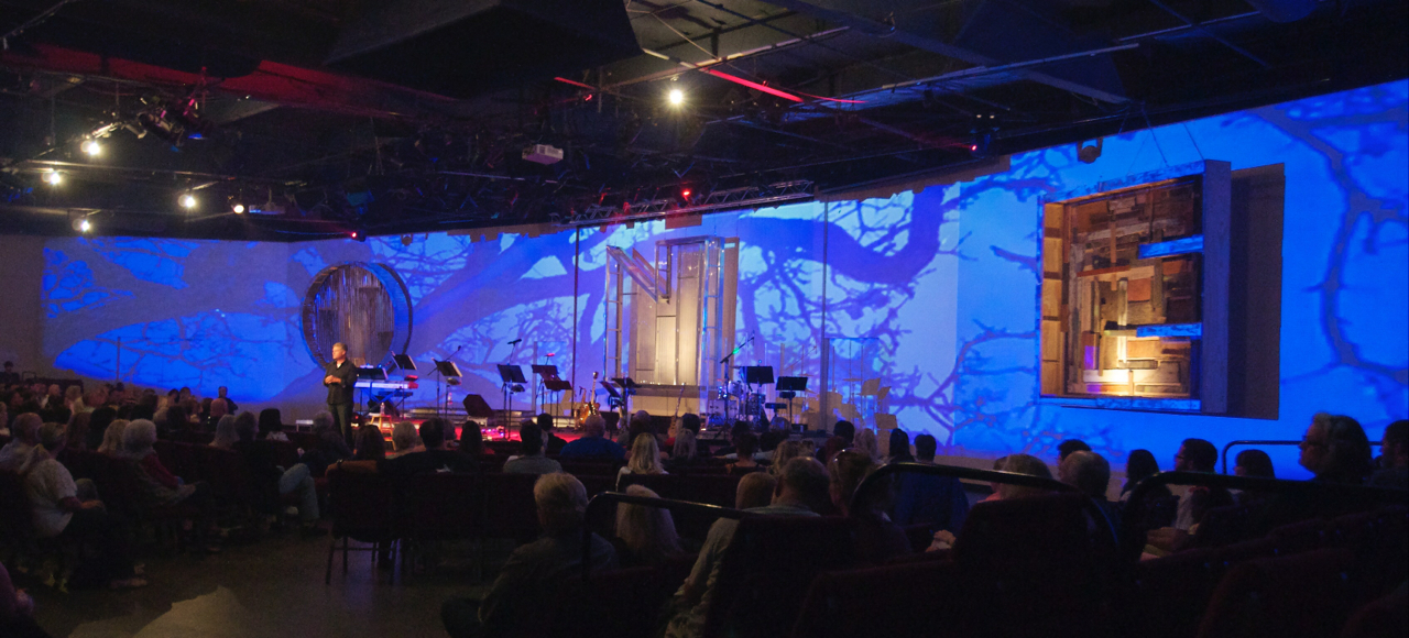 one projection church stage design ideas