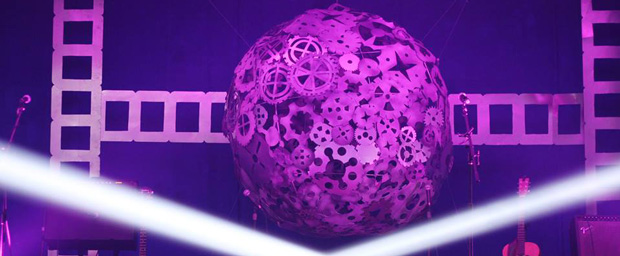 Industrial-Disco-Ball-Stage-Design