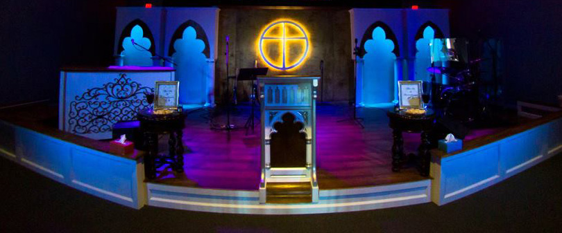 New Traditional Church Stage Design Ideas
