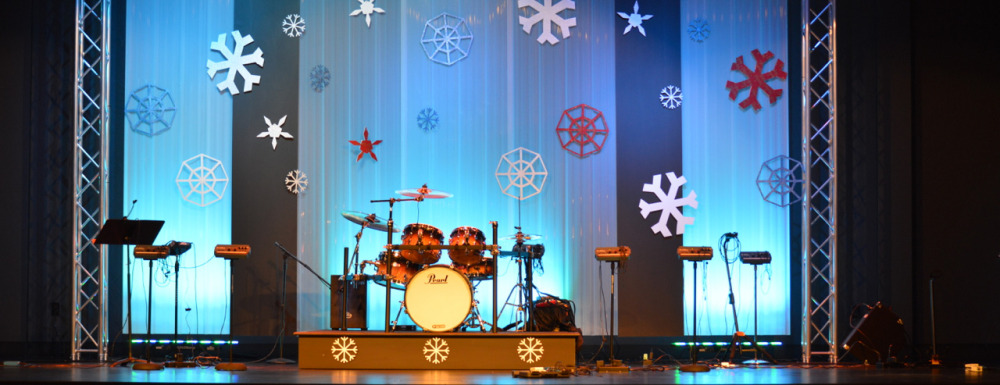 Snowflaked-Stage-Design