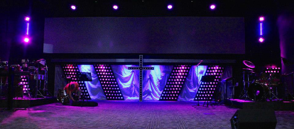 cross energy church stage design ideas