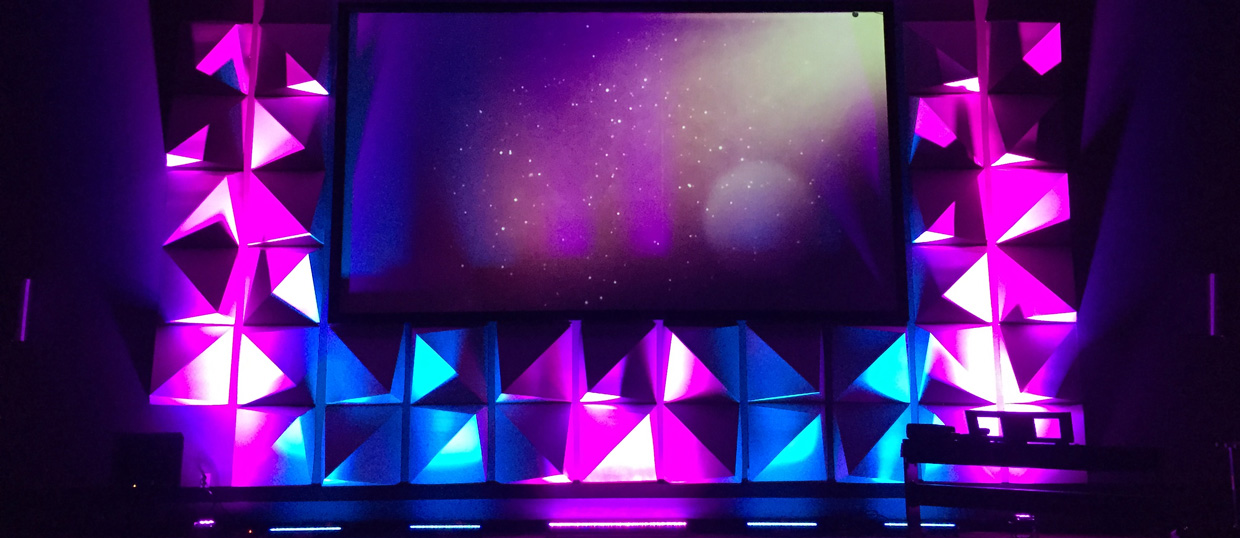 Energy Shapes Church Stage Design Ideas