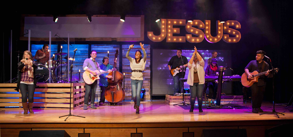 What Wood Jesus Do Church Stage Design Ideas