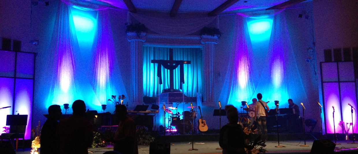 Easter S Falling Church Stage Design Ideas