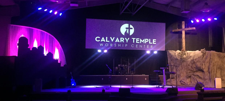 A Rocky Scene Church Stage Design Ideas