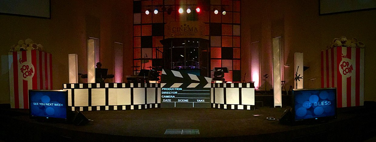 Youth Room Stage Designs